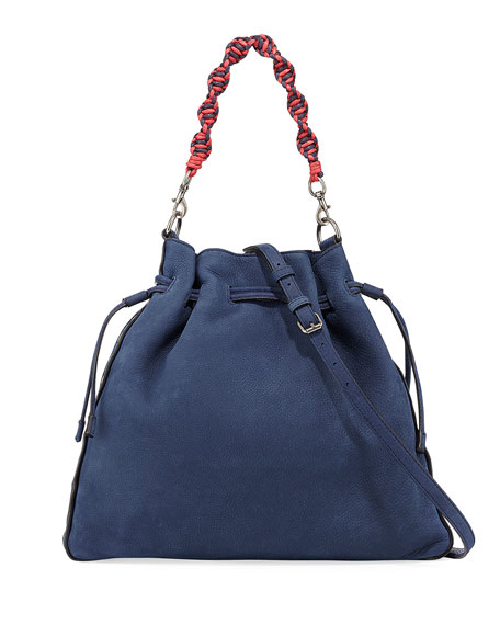 Rebecca Minkoff Medium Pebbled Drawstring Crossbody Bag