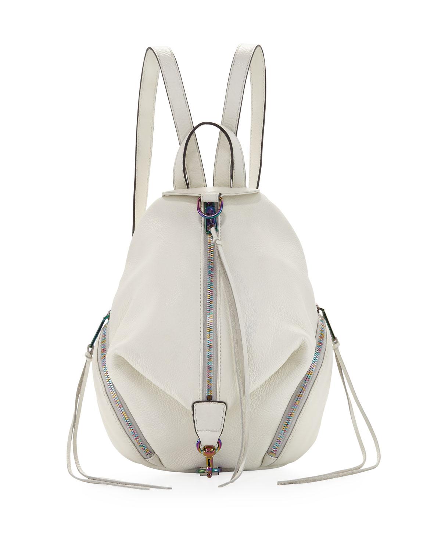 aea22942f3 Rebecca Minkoff Julian Medium Leather Backpack