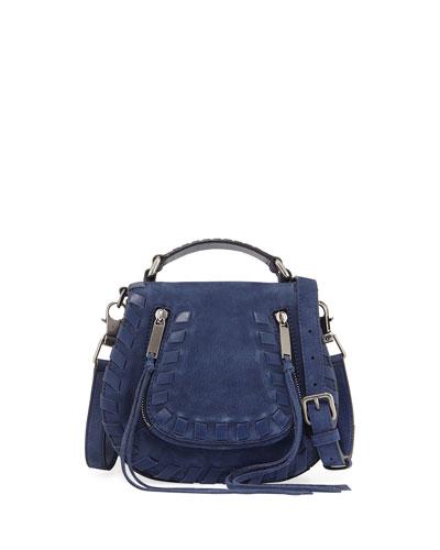 Vanity Small Whipstitch Saddle Bag