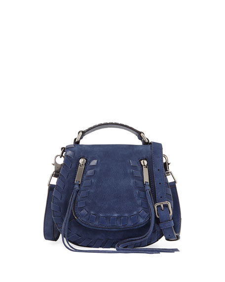Rebecca Minkoff Vanity Small Whipstitch Saddle Bag