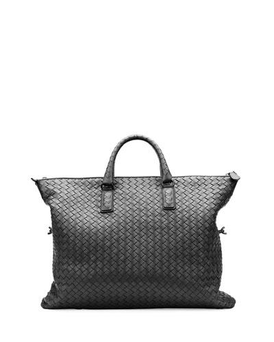 44639ae4f238 Bottega Veneta Medium Convertible Woven Tote Bag