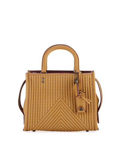 Rogue 25 Quilted Tote Bag with Rivets