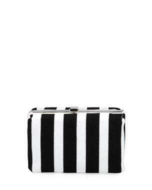 243b04c09f1 Proenza Schouler Asymmetric Frame Clutch Bag