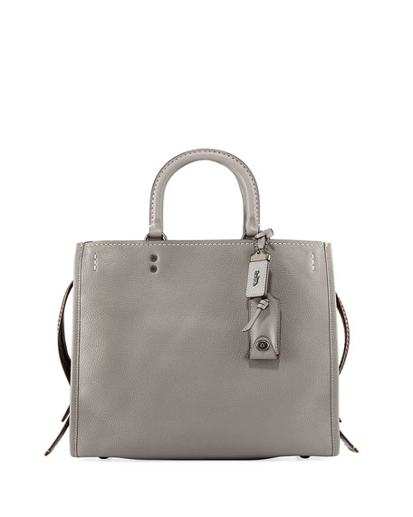 Coach 1941 Rogue Mixed Leather Tote Bag