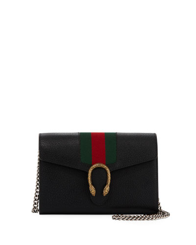 d58e7d6e27b5dc Gucci Dionysus Leather Wallet on a Chain from Neiman Marcus - Styhunt