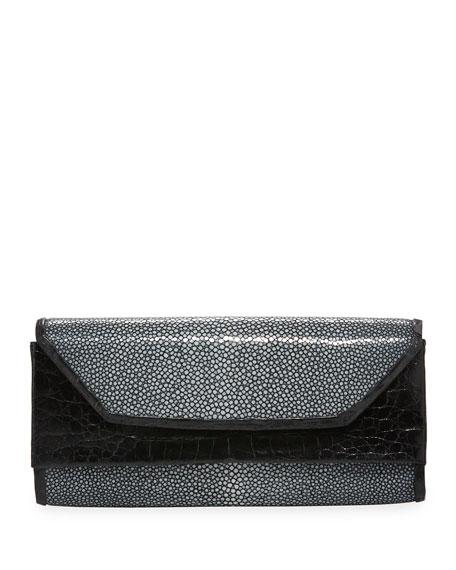 Crocodile Stingray Clutch Bag