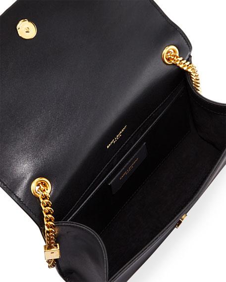 Kate Monogram Small Tassel Shoulder Bag with Golden Hardware