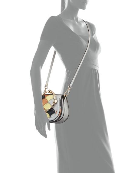Nile Small Studded Stitched Bracelet Bag