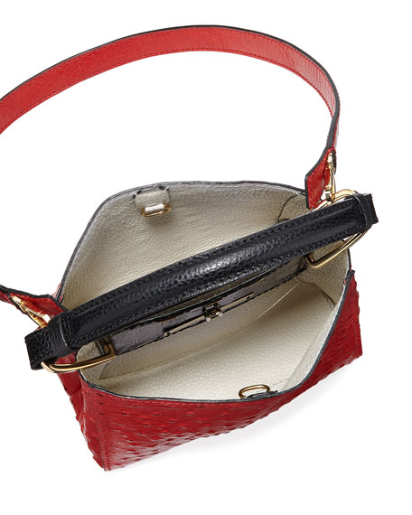 Seven 20 Ostrich Top Handle Bag