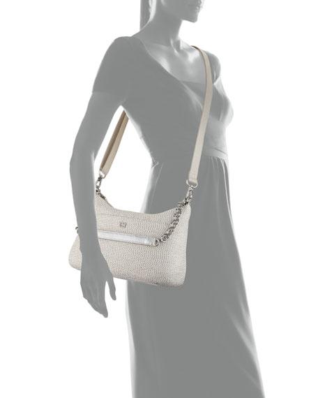 Powchky Zip-Top Shoulder Bag