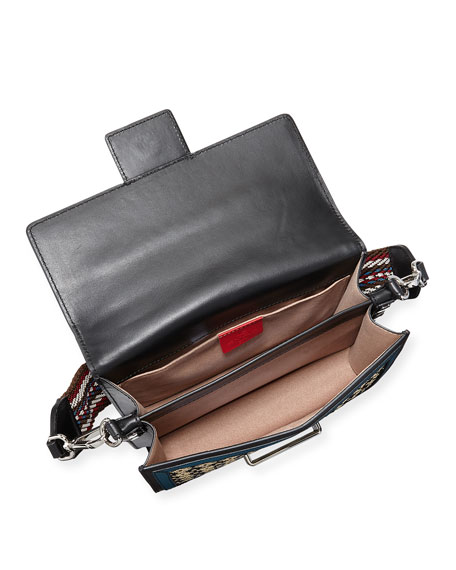 Paisley Mixed Crossbody Bag