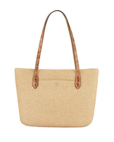 Squishee® Jav Iv Tote Bag, Beige