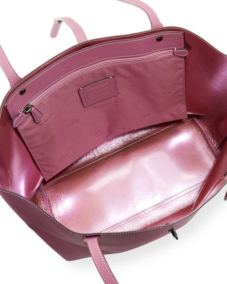 Market Metallic-Lined Tote Bag