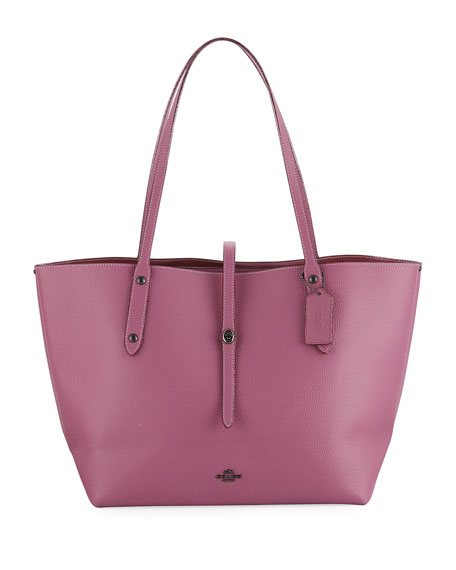 Coach Market Metallic-Lined Tote Bag