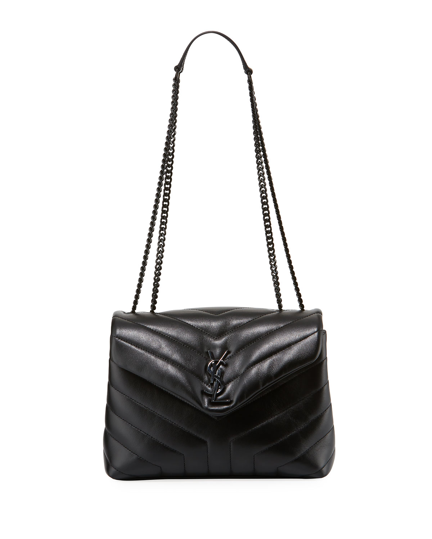 Saint Laurent Monogram Loulou Small Chain Shoulder Bag  1ce7ee6aa54d2