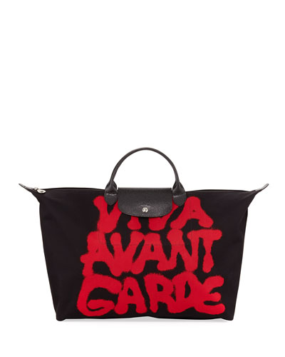 x Jeremy Scott Viva Avant Garde Travel Bag