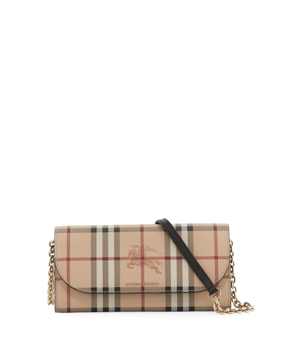 5439bcdc82fa Burberry Henley Haymarket Check Wallet-on-Chain