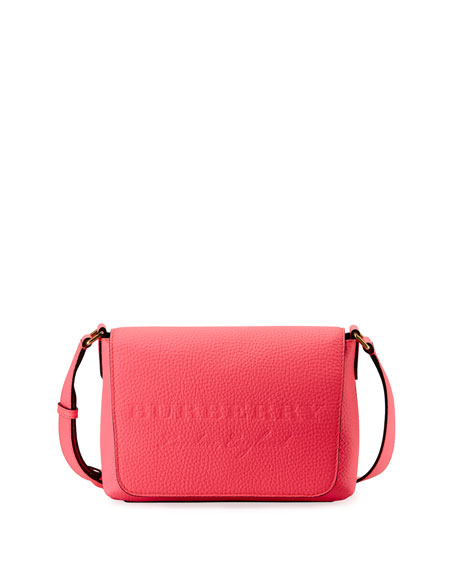 Burberry Burleigh Small Soft Leather Crossbody Bag, Bright