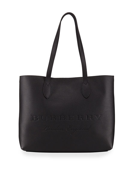 Burberry Remington Large Soft Embossed Tote Bag