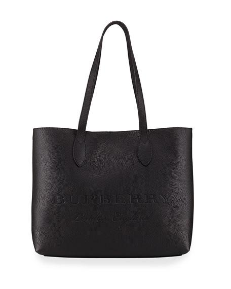 Remington Large Soft Grain Leather Shoulder Tote Bag