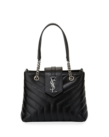Saint Laurent Loulou Quilted Chain Shoulder Bag
