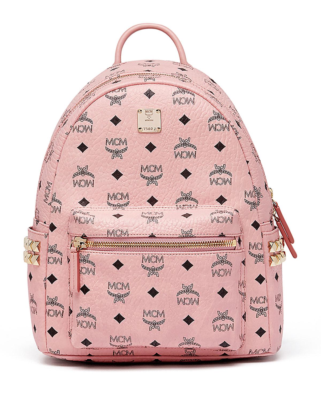 ff92857b16f MCM Stark Small Side Studded Backpack