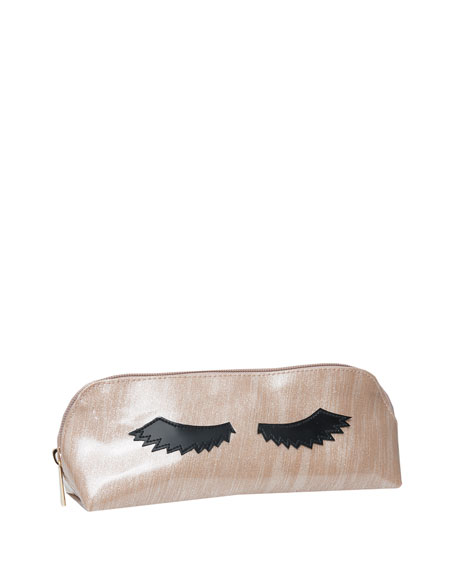 Lolo Bags Reynolds Cosmetics Bag, Brushed Rose Gold
