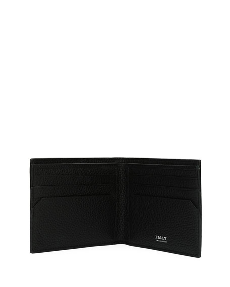 Bevye Saffiano Leather Wallet, Blue