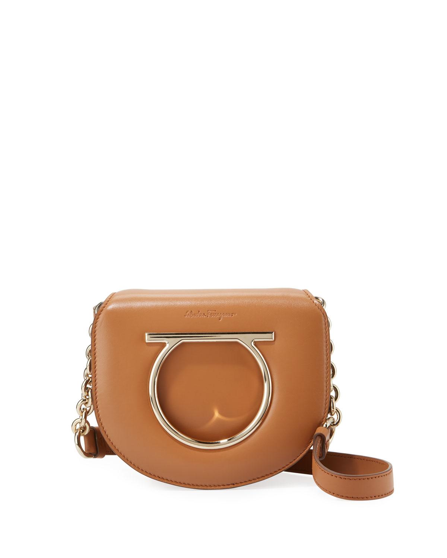1460bd64e3 Salvatore Ferragamo Small Gancio Crossbody Bag