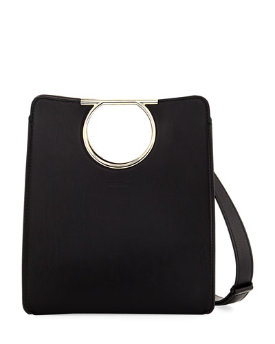 Medium Gancio Cutout Tote Bag