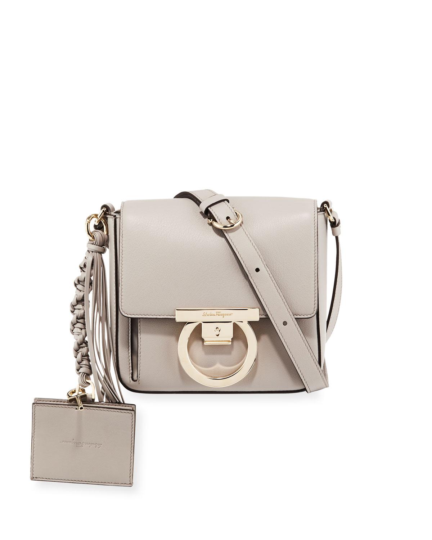Salvatore Ferragamo Small Leather Lock Crossbody Bag  73cc1dac5e410