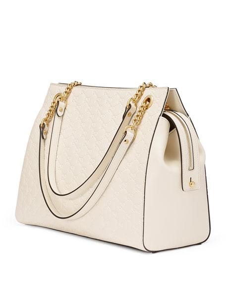 Linea A Large Guccissima Square Tote Bag
