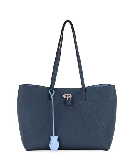 Carla Small Selleria Tote Bag