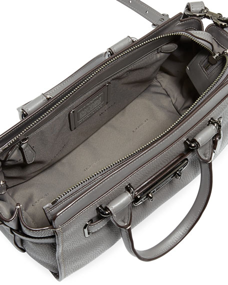 Swagger 27 Prairie Rivets Satchel Bag, Gray