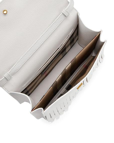 Macken Small Broguing Tassel Crossbody Bag
