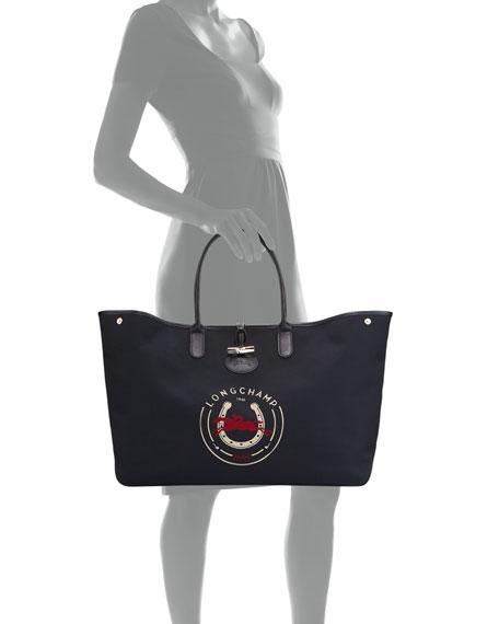 Roseau 1948 XL Logo Tote Bag