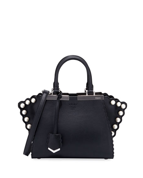 Fendi 3Jours Mini Small Calf Tote Bag