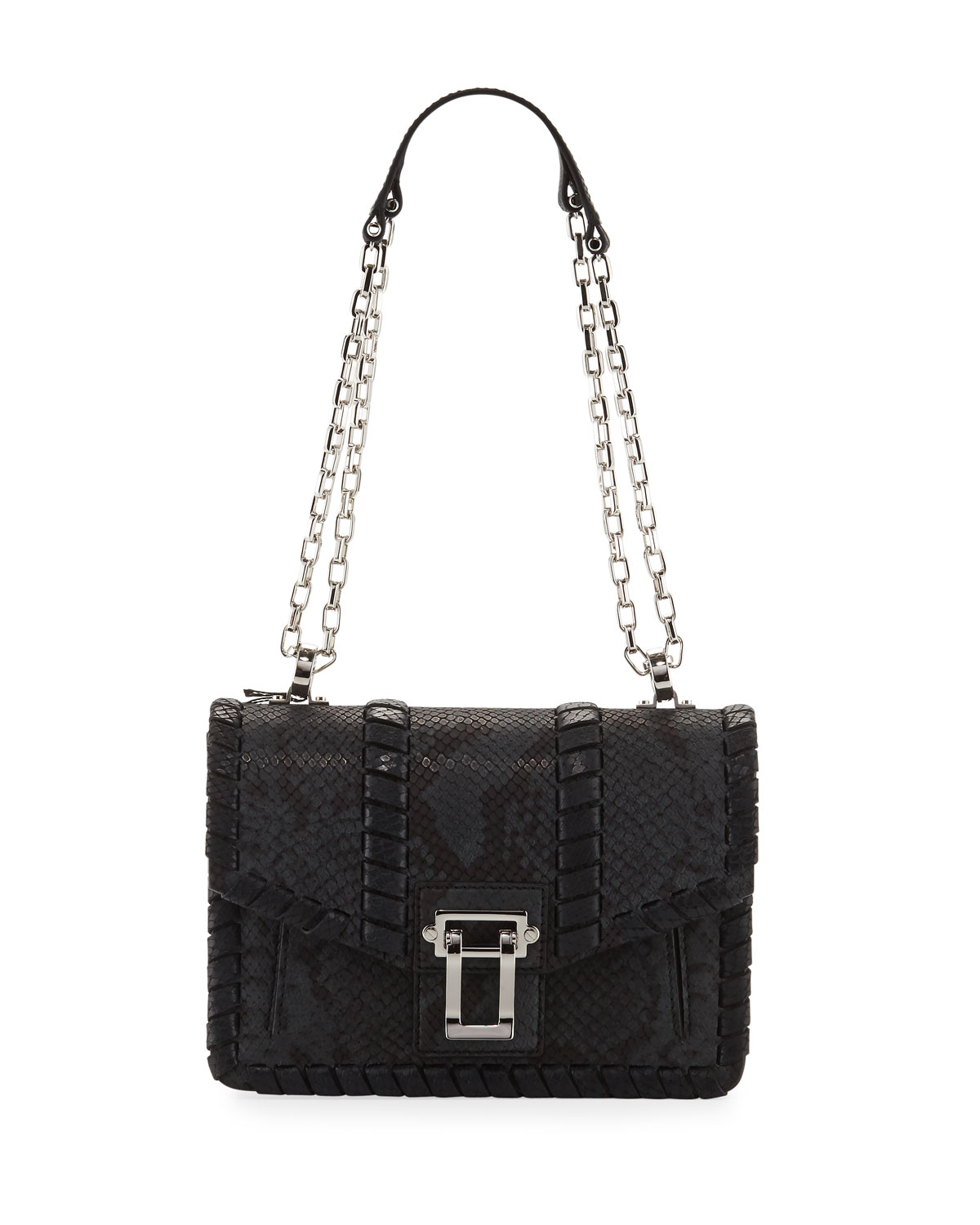 Proenza Schouler Hava Chain Leather Crossbody Bag d1bf8767ec3f3