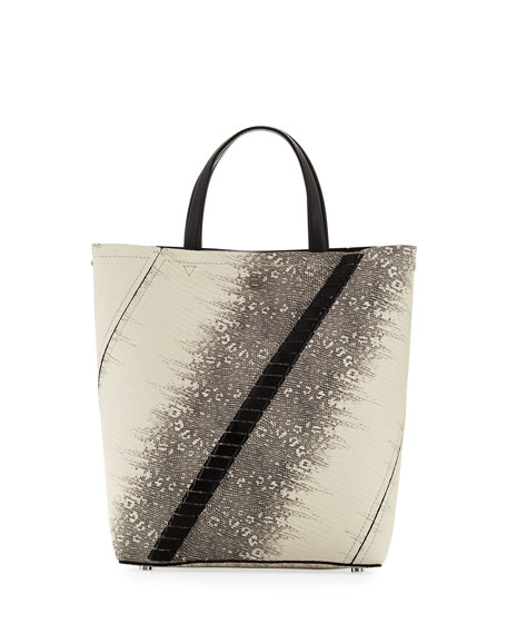 Proenza Schouler Hex Embossed Lizard Tote Bag