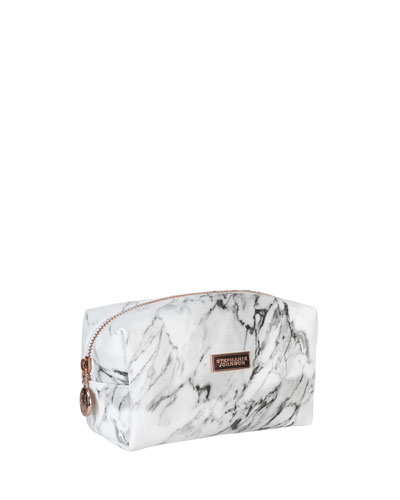 Carrara Grey Iris Small Cosmetic Bag