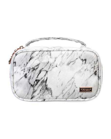 Stephanie Johnson Carrara Grey Grace Brush Case