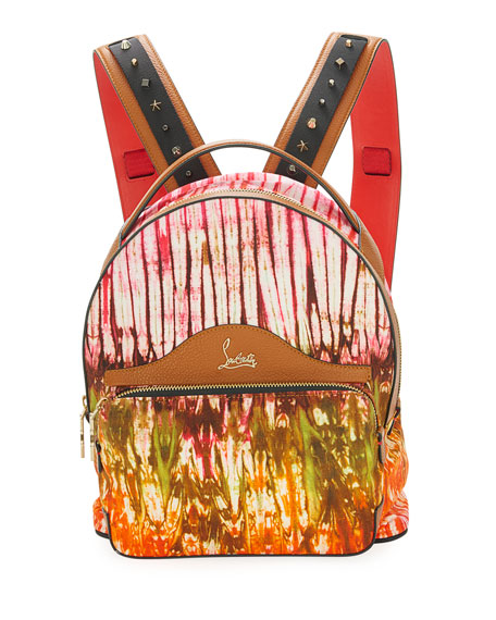 Christian Louboutin Backloubi Small Canvas Backpack, Pink