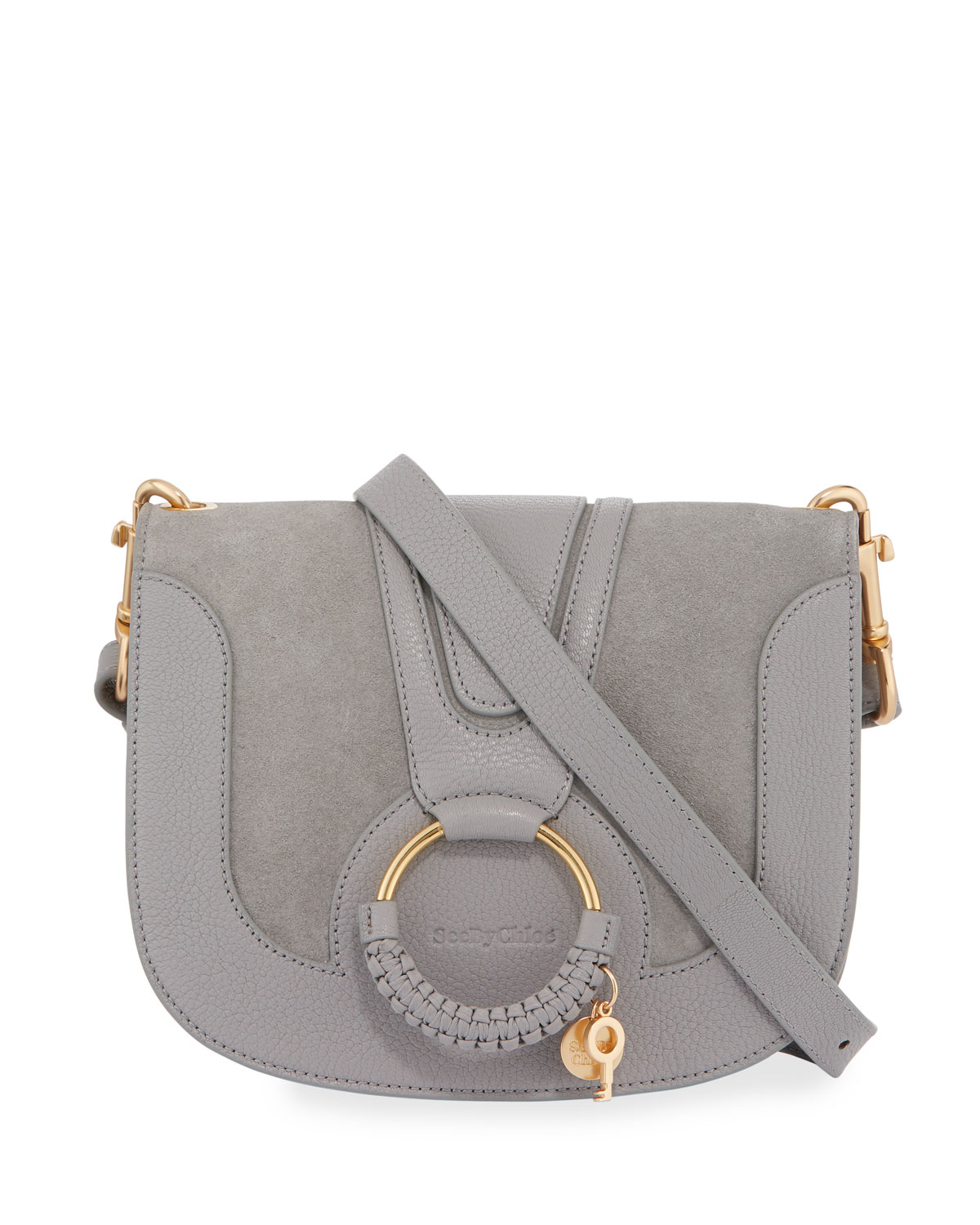 0fdcc182c8c0 See by Chloe Hana Small Leather Suede Crossbody Bag