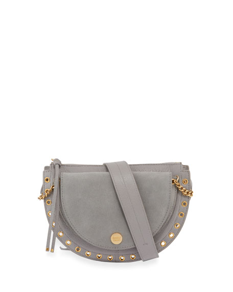See by Chloe Kriss Small Grommet Crossbody Bag,