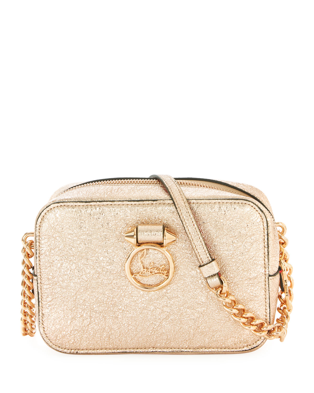 586c67cfa27 Christian Louboutin Ruby Lou Mini Vintage Specchio Crossbody Bag ...