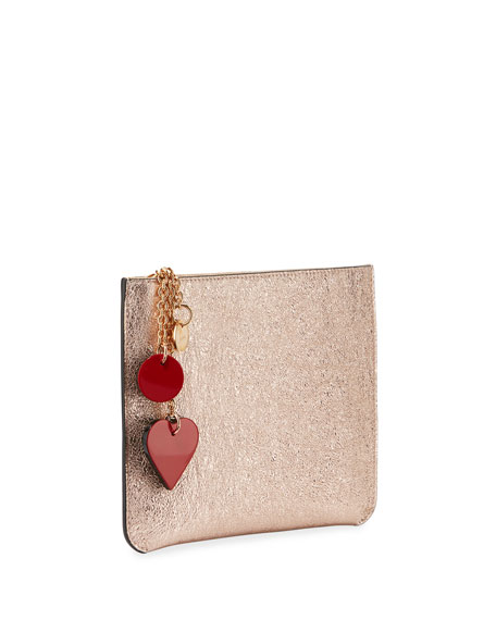 Loubicute Specchio Clutch Bag