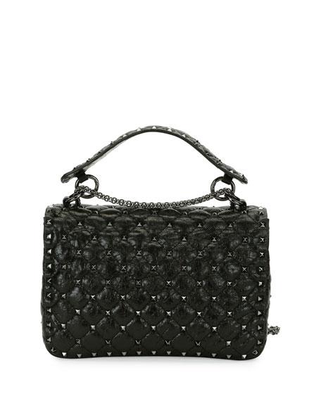Rockstud Spike Medium Shoulder Bag