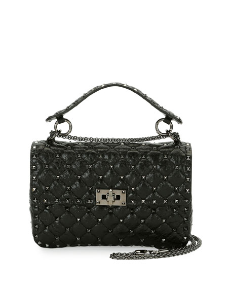 Valentino Monochrome Rockstud Shoulder Bag 9NTfI5sE