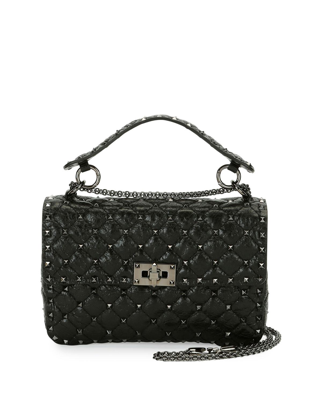 Valentino Garavani Rockstud Spike Medium Shoulder Bag  092730ed12de0