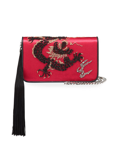 Ginny Dragoon Tassel Clutch Bag